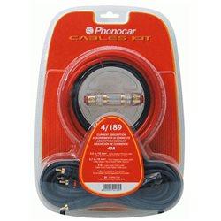 """Kable do montażu WZMACNIACZA 10mm(2)/60A """"PHONOCAR"""""""