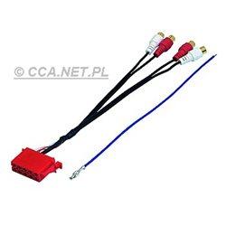 ADAPTER ISO (10 pinów) - 4xRCA P/T BULK