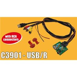 ADAPTER AUX-IN PCB HYUNDAI KIA -USB(m)+RCAx3