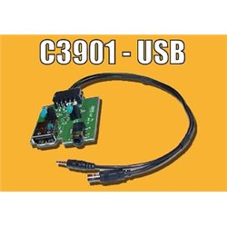 ADAPTER AUX-IN PCB HYUNDAI KIA -USB(m)+JACK 3,5m