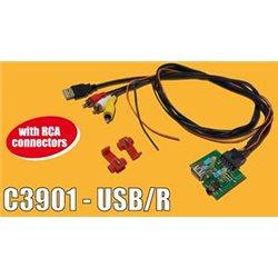 ADAPTER AUX-IN PCB HYUNDAI KIA -USB(m)+RCAx3