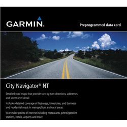 MAPA GARMIN CITY NAVIGATOR SOUTH AMERICA NT (microSD/SD) 010-11752-00