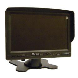 """monitor 7"""" TRUCK do kamery cofania z transmisją przewodową 12V (1530)"""