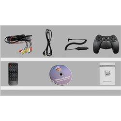 "monitor 9"" NVOX DV 9917 HD czarny zagłówkowy DVD USB SD video input"
