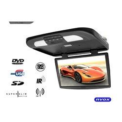 """MONITOR PODSUFITOWY 18,5"""" NVOX RF1890D CZARNY DVD/USB/SD"""