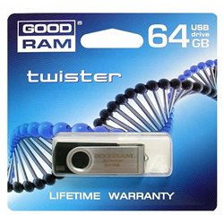 PENDRIVE 64GB USB 2.0 GOODRAM TWISTER ND112