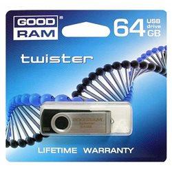 PENDRIVE 64GB USB 2.0 GOODRAM TWISTER ND112
