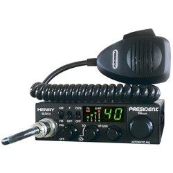 RADIO CB PRESIDENT HENRY ASC CLASSIC AM/FM 12/24V