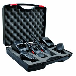 RADIO PMR ALBRECHT TECTALK FLOAT IPX7 (2 pmr+2 acu+2 micr+w) Worker walizka