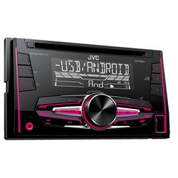 JVC KW-R520 2-DIN CD+USB+MULTICOLOR +FLAC /BT ready/