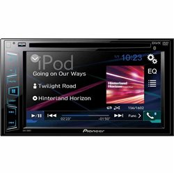 "PIONEER AVH-280BT 2-DIN 6 2"" CD+DVD+USB"