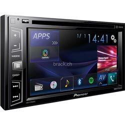 "PIONEER AVH-X2800BT 2-DIN 6 2"" CD+DVD+USB"