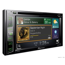 "PIONEER AVH-X3800DAB+ 2-DIN 6 2"" CD+DVD+USB+BT+MITRAX+MirrorLink"