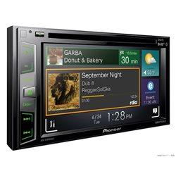 "PIONEER AVH-X3800DAB+ 2-DIN 6 2"" CD+DVD+USB+BT+MITRAX+MirrorLink"