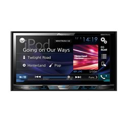 "PIONEER AVH-X5800DAB 2-DIN 7"" CD+DVD+BT+MITRAX+MIRRORLINK"