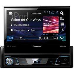 """PIONEER AVH-X7800BT 1-DIN 7"""" CD+DVD+USB+BT+MITRAX+VARIO COLOR"""