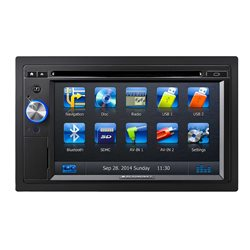 "BLAUPUNKT NEW YORK 845 AM 6 2"" CD+DVD+USB+SD+BT(Automapa Europe/PL MENU)"