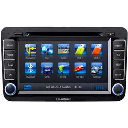 "BLAUPUNKT PHILADELPHIA 845 AMEU 7"" CD+DVD+USB+SD+BT(Automapa Europe/PL MENU) VW"