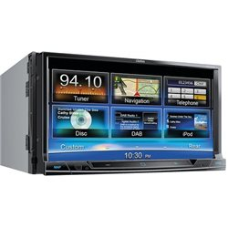 "Clarion NX-706E 2-DIN 7"" CD+DVD+USB+BT"