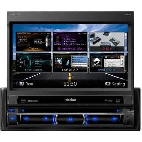 """CLARION NZ502E 1-DIN 7"""" CD+DVD+USB+BT PARROT"""
