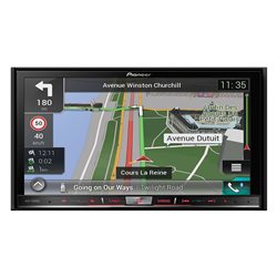 "PIONEER AVIC-F80DAB 2-DIN 7"" CD+DVD+USB+SD+BT"