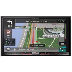"PIONEER AVIC-F88DAB 2-DIN 7"" CD+DVD+USB+SD+BT"