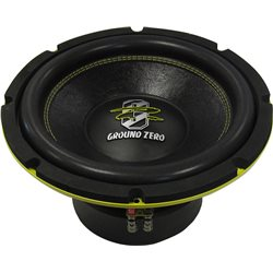 GROUND ZERO GZRW25XSPL-D2 250 MM RADIOACTIVE