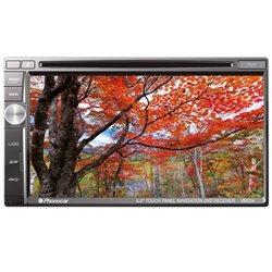 "VM034 STACJA MULTIMEDIALNA  PHONOCAR 6,8"" 2-DIN CD+DVD+NAV+BT + AUTOMAPA EU"