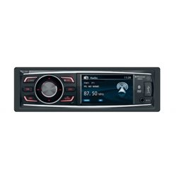 VM051 STACJA MULTIMEDIALNA  PHONOCAR 1-DIN CD+DVD + USB+SD+BT + MON.LCD 3""