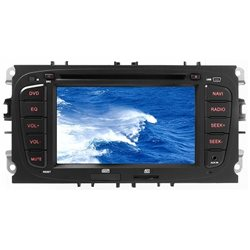 "VM085 STACJA MULTIMEDIALNA +NAVI PHONOCAR FORD 7"" 2-DIN CD+DVD+NAV+BT BEZ MAPY 2013"