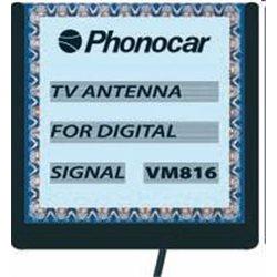 VM816 ANTENA TV SAMOCHODOWA DIGITAL(9x9cm)+3M KAB.ANT. DVB-T PHONOCAR