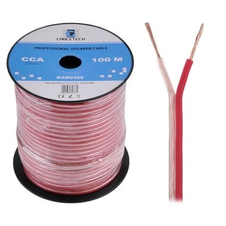 Kabel głośnikowy 2 x 0.75 mm kw.