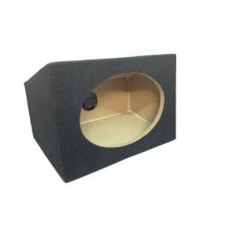 Obudowa MDF pod głośnik elipsy 6x9 skrzynia na półkę.