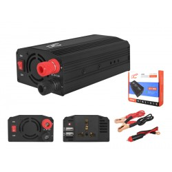"PRZETWORNICA 12-230V ""LEXTOOL"" 200W/400W+5V USB LXP51"