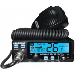 RADIO CB PRESIDENT RONALD 10/12 M