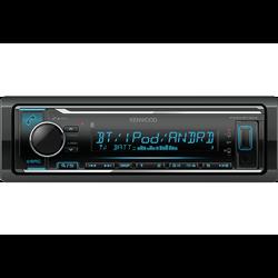 Kenwood KMM-BT304 Radioodtwarzacz 1din Procesor DSP Bluetooth