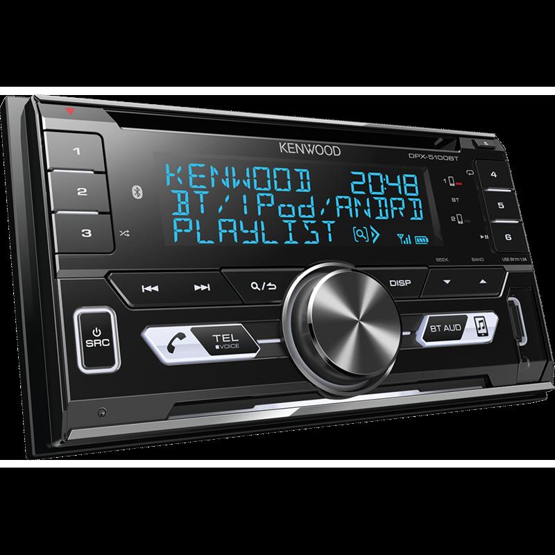kenwood dpx 5100bt 2 din usb bluetooth vario color sklep centrum audio. Black Bedroom Furniture Sets. Home Design Ideas