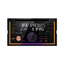 JVC KW-DB93BT Radioodtwarzacz 2-DIN CD/USB/MP3 DAB