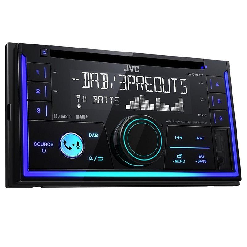 jvc kw db93bt radioodtwarzacz 2 din cd usb mp3 dab sklep. Black Bedroom Furniture Sets. Home Design Ideas