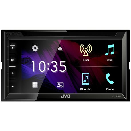 JVC KW-V340BT Stacja Multimedialna 2-Din DVD/CD/USB/MP3