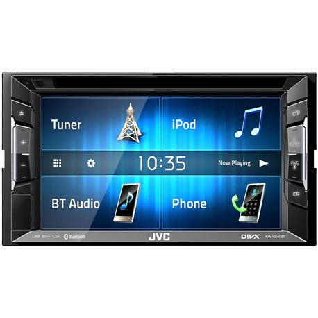 JVC KW-V240BT Stacja Multimedialna 2-Din DVD/CD/USB/MP3