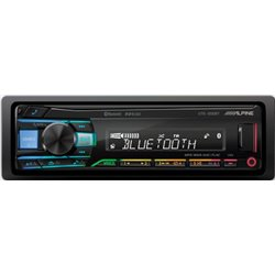 Alpine UTE-200BT Radioodtwarzacz USB Bluetooth Multikolor