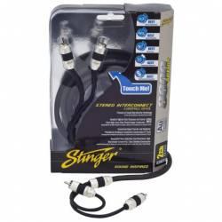 Stinger SI8217 seria 8000 5m kable sygnałowe RCA