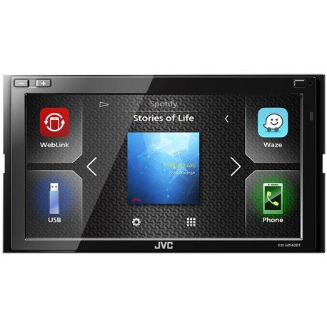 JVC KW-M540BT Stacja Multimedialna 2-Din WebLink