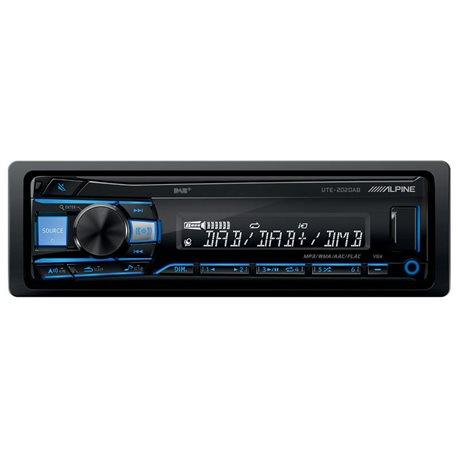 Alpine UTE-202DAB Radioodtwarzacz 1din USB DAB Bluetooth