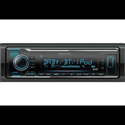 Kenwood KMM-BT504DAB Radioodtwarzacz 1din DSP Bluetooth DAB