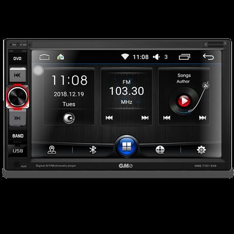 GMS 7701 EVO Stacja Multimedialna 2-Din Android