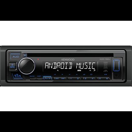 Kenwood KDC-130UR/UG/UB Radioodtwarzacz 1din CD USB