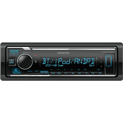 Kenwood KMM-BT305 Radioodtwarzacz 1din Procesor DSP Bluetooth