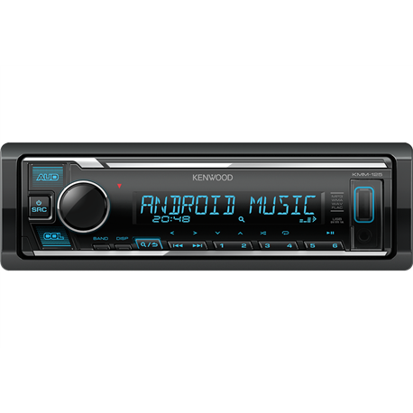 Kenwood KMM-125 Radioodtwarzacz 1din USB